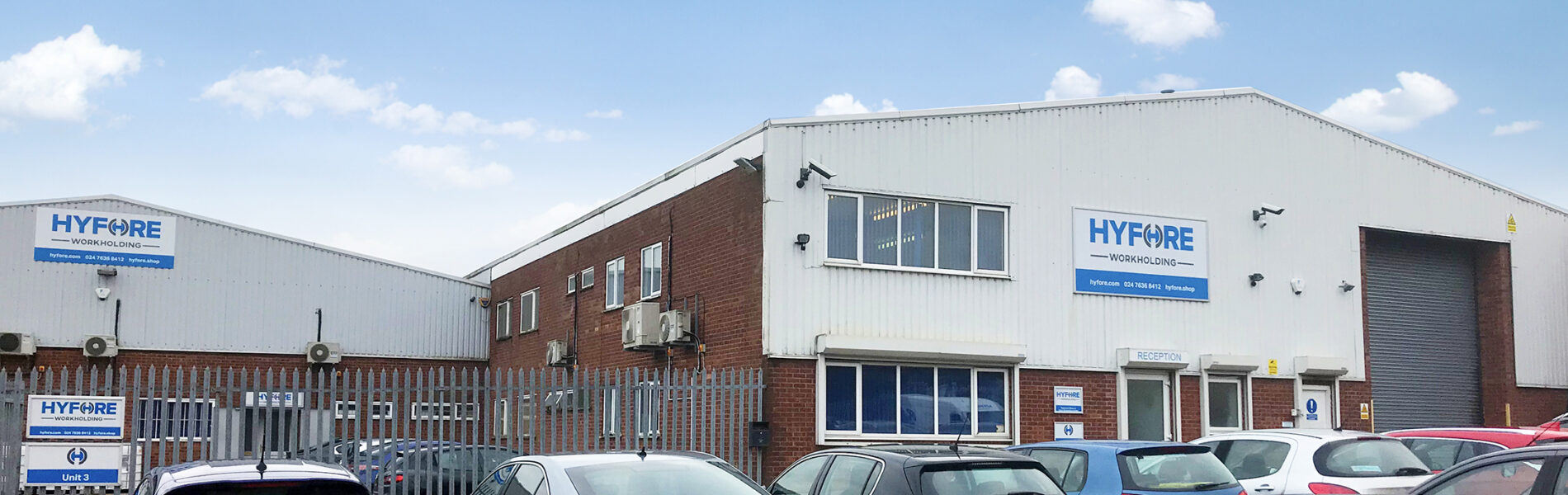 Headquarters of Hyfore, a UK-based supplier of cnc workholding solutions
